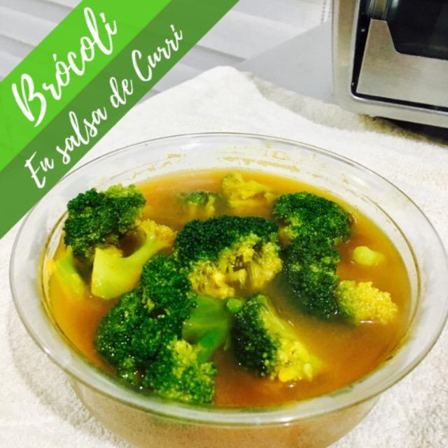 Brócoli en Salsa de Curry
